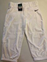 New Nike Baseball Pants XL White / Black AQ7976-100