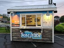 2012 - 8' x 10' Eye-Catching Shaved Ice Snowball Concession Stand for Sale in Wi