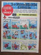 LE REPUBLICAIN LORRAIN ILLUSTRE DU DIMANCHE 14 UDERZO GREG MORRIS GRATON... 1967