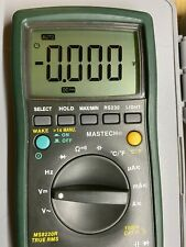 Mastech Ms 8220r Digital Multimeter Nos New But 20 Years Old