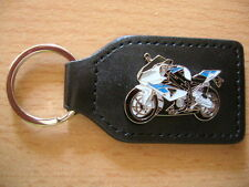 Schlüsselanhänger BMW HP4 / HP 4 weiss/blau Modell 2013 Motorrad Bike Art. 1176