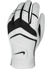 Nike Dura Feel VIII Golf Glove White/Black Medium RH (LH Golfer) 23 cm