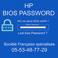 UNLOCK SUPERVISOR BIOS PASSWORD for Fujitsu Siemens LifeBook E séries