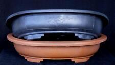 Bonsai Schale - Kunststoff - rotbraun 48 x 37 x 11 cm - ideal zur Anzucht