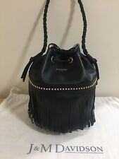 J&M Davidson Large Carnival calf leather-capsule collection-Made in Italy-NEW