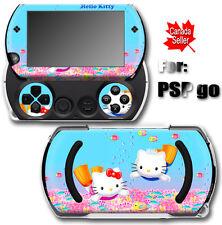 Hello Kitty Diving SKIN STICKER COVER for SONY PSP Go