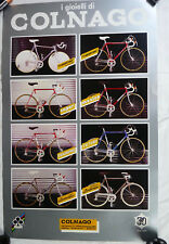 Colnago Poster 1984 30th Anniversary Master Mexico Arabesque Super Large NOS