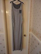 Mamalicious - Milla SL Jersey Maxi Dress in Medium Grey Melange - Size M