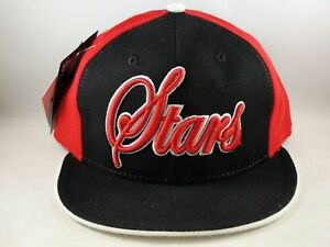 Philadelphia Stars Negro League Headgear Fitted Hat Cap Size 7 1/4 Black Red