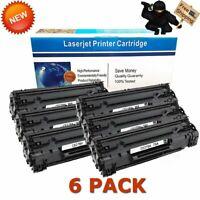 6 Pack Black CE278A 78A Toner Cartridge for HP Laserjet P1566 P1606dn M1536dnf