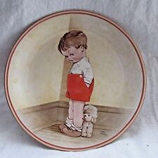 DAVENPORT POTTERY THANK GOD FOR FIDO MABEL LUCIE ATTWELL COLLECTOR'S PLATE 1988