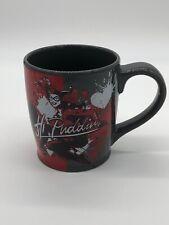 DC Comics Batman Joker Harley Quinn Gray Coffee Cup Mug NEW Hi Puddin
