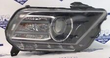 13 14 FORD MUSTANG RIGHT PASSENGER HID HEADLIGHT W/O BALLAST AND BULBS, OEM