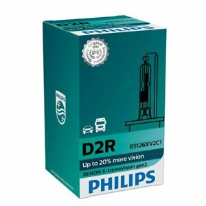 D2R PHILIPS X-treme Vision Xenon gen2 HID 35W Headlight Lamp 85126XV2C1 (single)