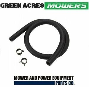 FUEL LINE AND CLAMPS TO FIT BRIGGS AND STRATTON QUANTUM MOTORS