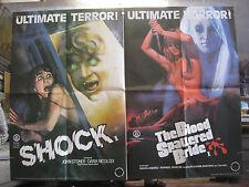 Horror Original UK Quad Film Posters (1970s)