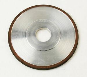 FULL RADIUS DIAMOND GRINDING  WHEEL 5-3/4 X .290 X 1-1/4 .145 RADIUS (D-1-8-3-1)
