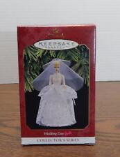 One 1997 Hallmark Wedding Day Barbie Collector's Series Keepsake Ornaments Nib