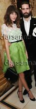 Valentino Chantilly Scallop Lace Overlaid Bodice Bow Belted Organza Dress 40