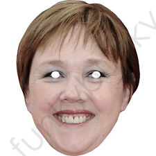 Pauline Quirke Celebrity Actress Card Mask - All Our Masks Are Pre-Cut!