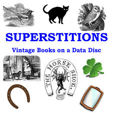 Superstitions Collection 26 Rare and Vintage Books on a Data Disc