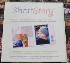 Creative Memories Paper Album Kit~Short Story~Mat/Jiurnaling Box/Stickers NIP