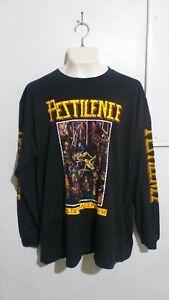 Pestilence malleus maleficarum long sleeve T shirt death metal morgoth asphyx