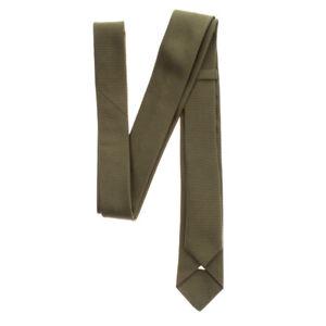 RRP €140 BOTTEGA VENETA Silk Necktie Skinny Pinstriped Pattern Made in Italy