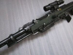 NERF Centurion Military Rifle GUN Sniper Paint Mod Cosplay Halo Call Duty Cospla