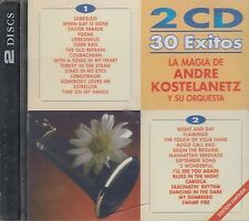 La Magia De Andre Kostelanetz Y Su Orquesta 30 Exitos  2CD New Sealed