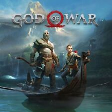 PS4 God of War (PlayStation 4, 2018) Mature 17+ Dualshock 4 Blue Ray Disc Sony 1