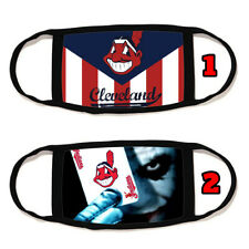 Cleveland Indians Face Mask Cotton material Reusable Washable Made in U.S #4