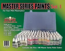NEW Reaper Master Series Paint Set 09951 9001-9111 108 Basic Core Colors Sealed