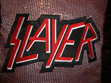 Slayer XXXL Back Patch Shape Patch EMBROIDERED Thrash Metal Legend Kings