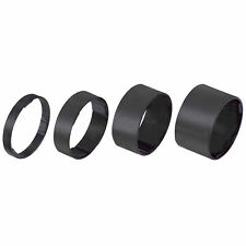 White AL6061 T6 BBB BHP-36 Light Space 1 1//8 Headset Spacers Set 5//10//15//20mm