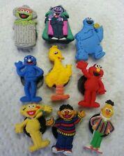 Sesame Street Characters 9pc Set SHOE CHARMS LOT FOR CROC SHOES JIBBITZ BRACELET