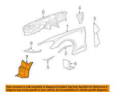 Chevrolet GM OEM 05-13 Corvette-Front Fender Liner Splash Shield Left 15233301