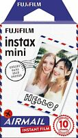 Fujifilm Instax Mini Instant Airmail Film, 10 Sheets