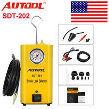 AUTOOL SDT-202 Car Smoke Leak Detector Smoke Machine EVAP Fuel Pipe Diagnostic