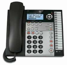 AT&T 4 Line Expandable Corded Phone System with Caller ID Call Waiting 1 Handset