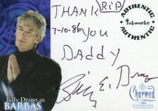 Charmed Conversations Billy Drago as Barbas Autograph Card A-5 Variant #2