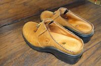 14393/ Women's  ARIAT  Mules / Slip on Heels ~ Ladies shoe size 7B ~ brown