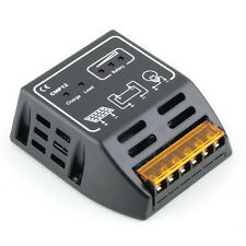 Solar Panel Charger Controller Regulator 10A 12V/24V, Auto Switch CE TSR Safe TO