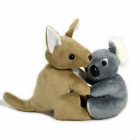 JUMBACK KOALA & KANGAROO HUGS SOFT ANIMAL PLUSH TOY 16cm **NEW**