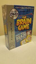 Brain Game DVD TV Games Quiz Puzzle Multiplayer NEW IN BOX