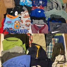 Huge Lot 2T 24 Months Clothes baby boy Toddler Pants Shorts Pajamas Nike Puma