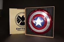 """Cattoys 1:1 Avengers Endgame Finale Captain America ABS Scudo 22 /"""" Cosplay"""