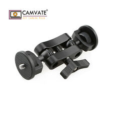 "CAMVATE Articulating Arm Ball Head 1/4""-20 Screw Mounts for Camera Monitor Light"