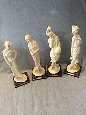 Lot Of 4 Giuseppe Armani Florence Figurines Sculptures
