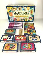 NOSTALGIA BOARD GAME - The Game That Recalls The Past - 100% Complete - VGC